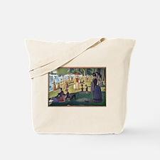 Funny Impressionist art Tote Bag