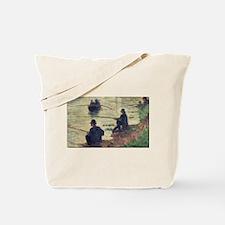 Funny Seurat Tote Bag