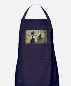 Unique Post impressionist Apron (dark)