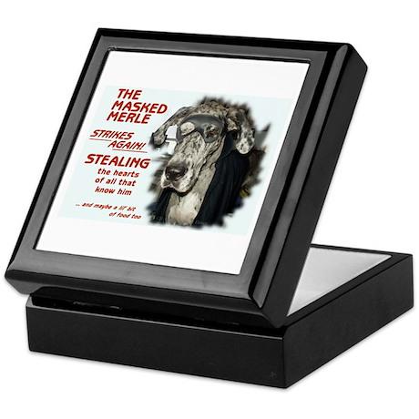 N Masked Merle Keepsake Box