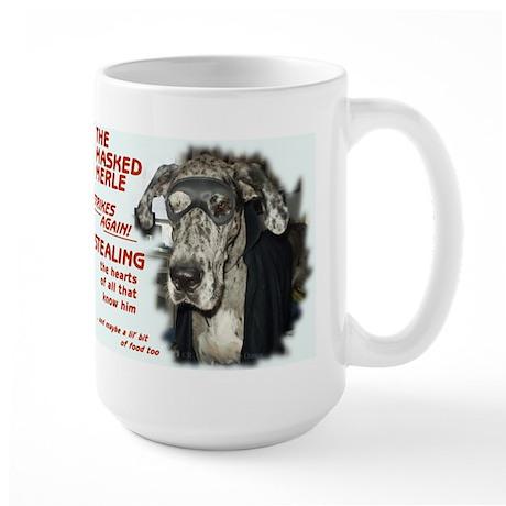 N Masked Merle Large Mug