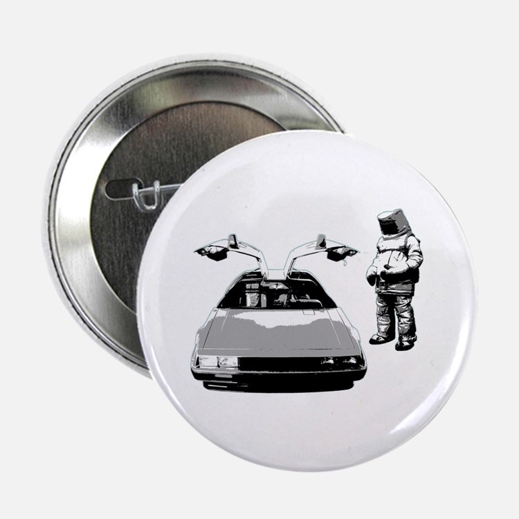"DeLorean 2.25"" Button"