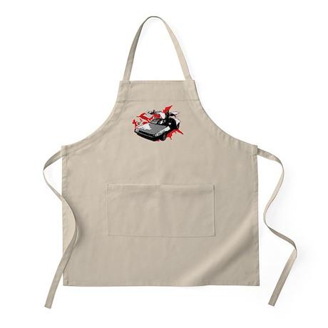 DeLorean BBQ Apron