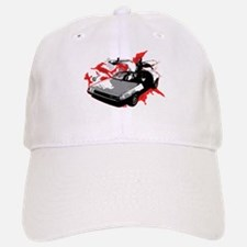 DeLorean Baseball Baseball Cap