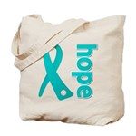Hope Ovarian Cancer Tote Bag