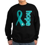 Hope Ovarian Cancer Sweatshirt (dark)