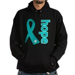 Hope Ovarian Cancer Hoodie (dark)