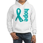 Hope Ovarian Cancer Hooded Sweatshirt