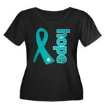Hope Ovarian Cancer Women's Plus Size Scoop Neck D