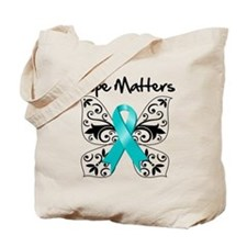 Hope Matters Ovarian Cancer Tote Bag