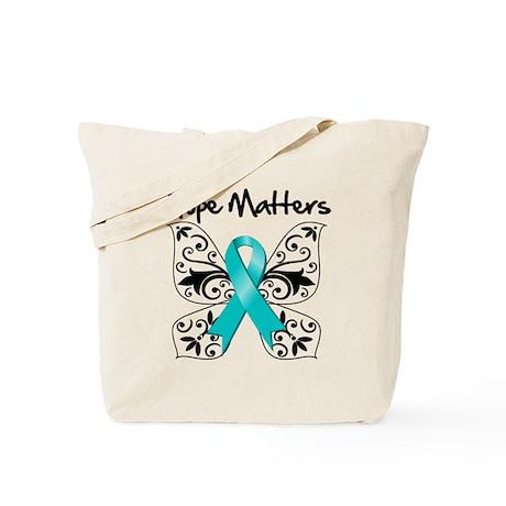 Hope Matters Ovarian Cancer Tote Bag