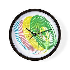Delorean Wheels Wall Clock