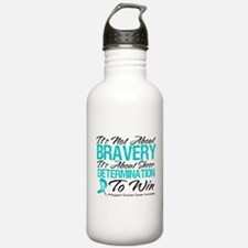 Bravery Ovarian Cancer Sports Water Bottle