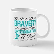 Bravery Ovarian Cancer Small Mugs