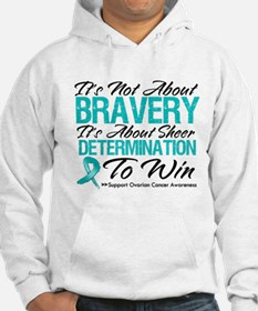 Bravery Ovarian Cancer Hoodie