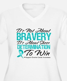Bravery Ovarian Cancer T-Shirt