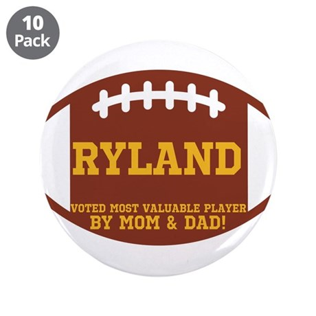 """Ryland 3.5"""" Button (10 pack)"""