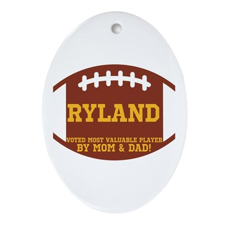 Ryland Ornament (Oval)