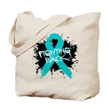 Fighting Back Ovarian Cancer Tote Bag