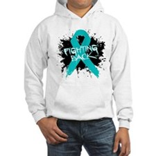 Fighting Back Ovarian Cancer Hoodie