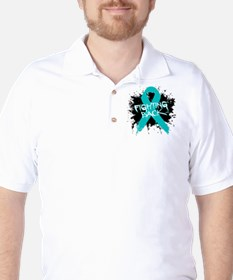 Fighting Back Ovarian Cancer T-Shirt