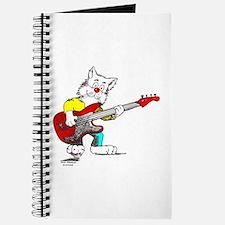 Catoons™ Bass Guitar Cat Journal