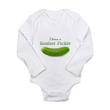 I have a Kosher Pickle Long Sleeve Infant Bodysuit