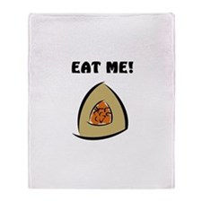 Eat Me! Hamantash Throw Blanket