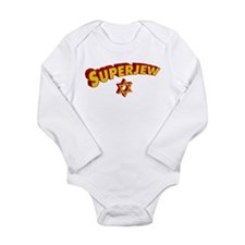 SuperJew Long Sleeve Infant Bodysuit