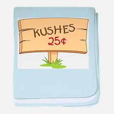 Kushes - Kisses baby blanket