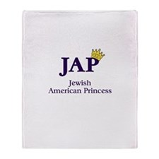 JAP - Jewish American Princes Throw Blanket