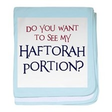 Jewish - See My Haftorah? - baby blanket
