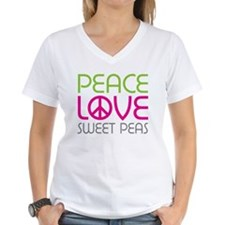 Peace Love Sweet Peas Shirt