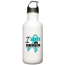 I'm a Survivor Ovarian Cancer Water Bottle