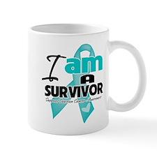I'm a Survivor Ovarian Cancer Small Mugs
