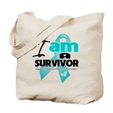 I'm a Survivor Ovarian Cancer Tote Bag