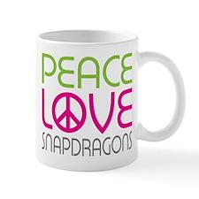 Peace Love Snapdragons Mug