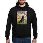 Spring & Black Lab Hoodie (dark)