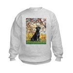 Spring & Black Lab Kids Sweatshirt