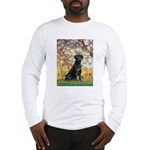 Spring & Black Lab Long Sleeve T-Shirt
