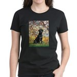 Spring & Black Lab Women's Dark T-Shirt