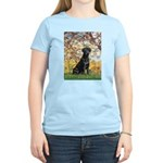 Spring & Black Lab Women's Light T-Shirt