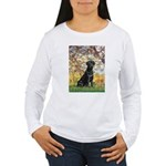 Spring & Black Lab Women's Long Sleeve T-Shirt