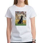Spring & Black Lab Women's T-Shirt