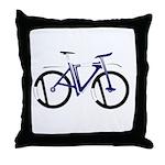 David (Bike new Design) Throw Pillow