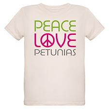 Peace Love Petunias T-Shirt
