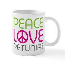Peace Love Petunias Mug