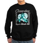 Ovarian Cancer Sweatshirt (dark)