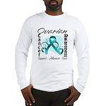 Ovarian Cancer Long Sleeve T-Shirt