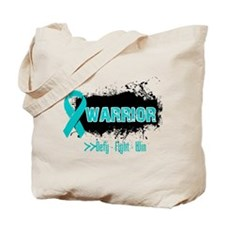 Warrior Ovarian Cancer Tote Bag